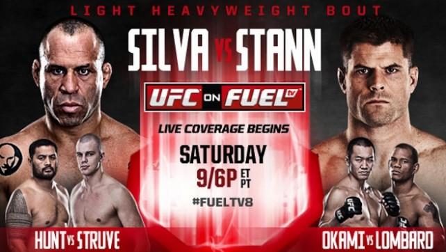 Risultati UFC on Fuel TV 8 - Silva vs Stann 1