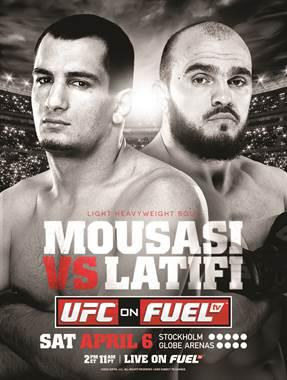 Risultati UFC on FuelTV 9: Mousasi vs Latifi 1