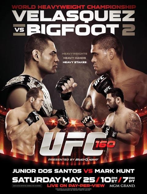 UFC160 risultati