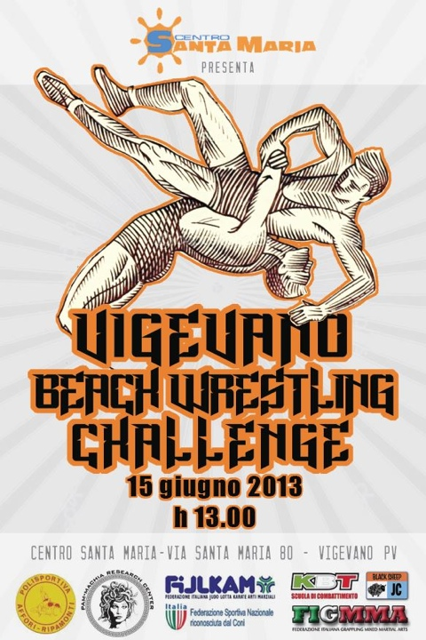 Vigevano Save olympic Wrestling Day