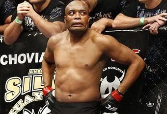 Anderson Silva fa il Nick Diaz 1