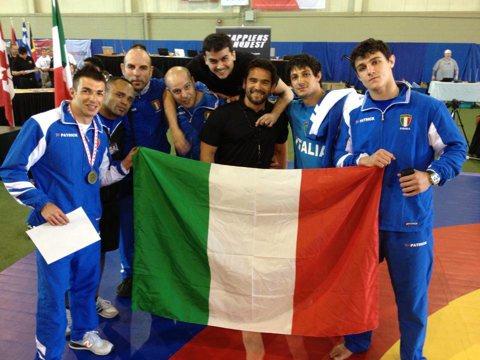 Italia terza nei mondiali MMA della Fila 1