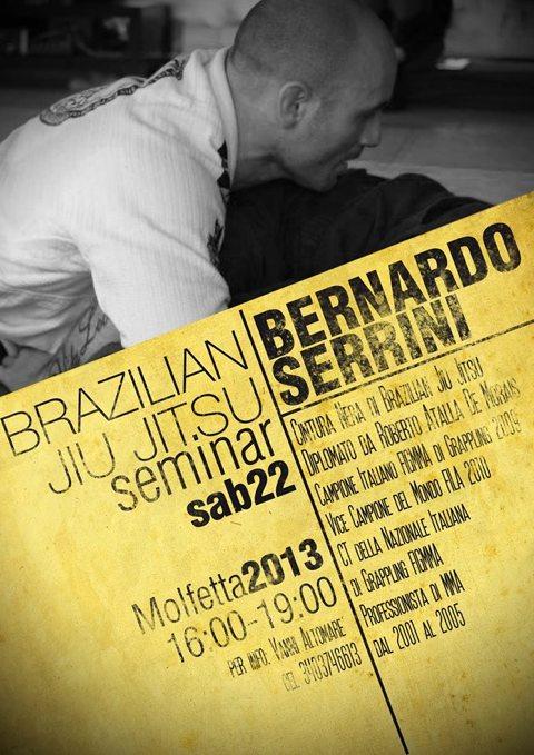 Bernardo Serrini - BJJ seminar a Molfetta