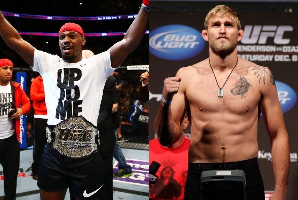 Jones vs Gustafsson a UFC165 1