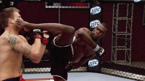 Uriah Hall è diventato famoso per questo KO