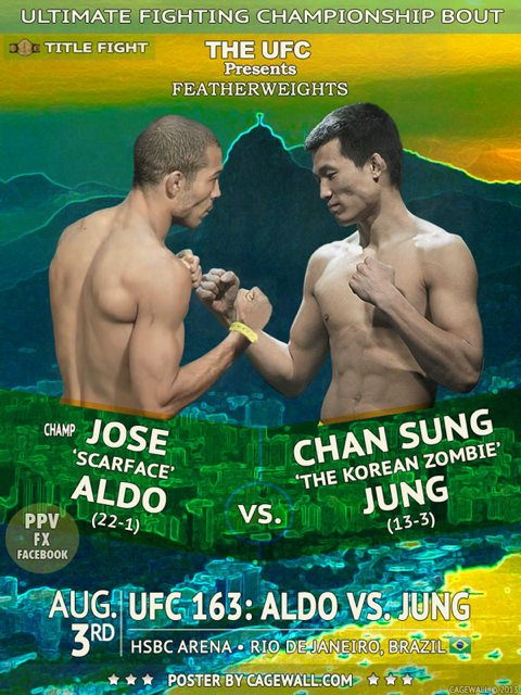 Risultati UFC 163 - Jose Aldo vs Korean Zombie Chan Sung Jung