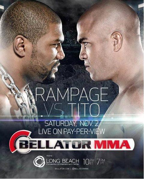 Rampage Jackson vs. Tito Ortiz poster3