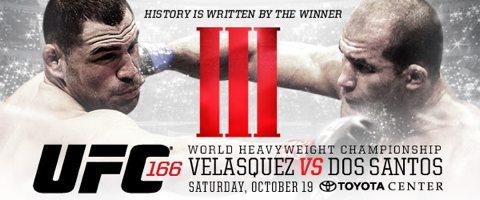UFC 166: Cain Velasquez vs Junior dos Santos III
