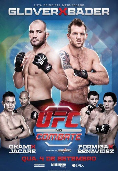 Resultati UFC Fight Night 28 - Teixeira vs. Bader