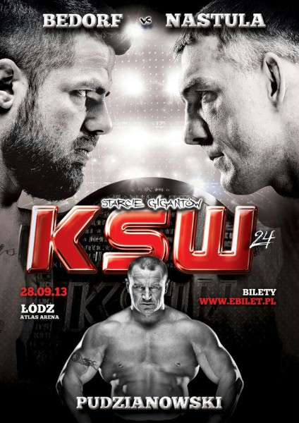 "28 Settembre 2013: KSW24 ""Clash of the giants"" 1"