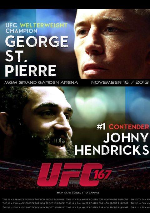 UFC 167 St-Pierre vs. Hendricks - 16 Novembre 2013