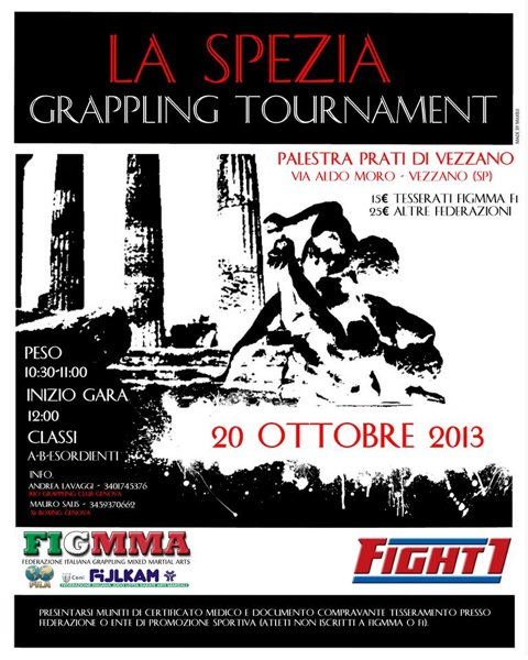 La Spezia Grappling Tournament di GRAPPLING NO-GI  - 20 ottobre 2013
