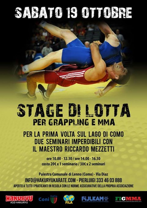 Stage di Lotta per Grappling & MMA