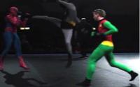 Batman & Robin Vs Spiderman 1