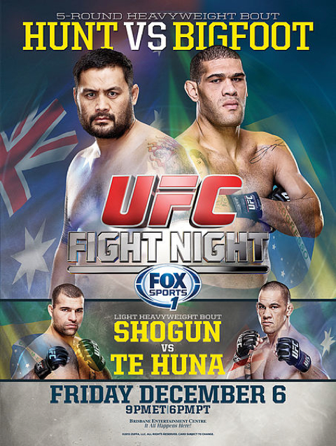UFC Fight Night 33- Hunt vs. Bigfoot