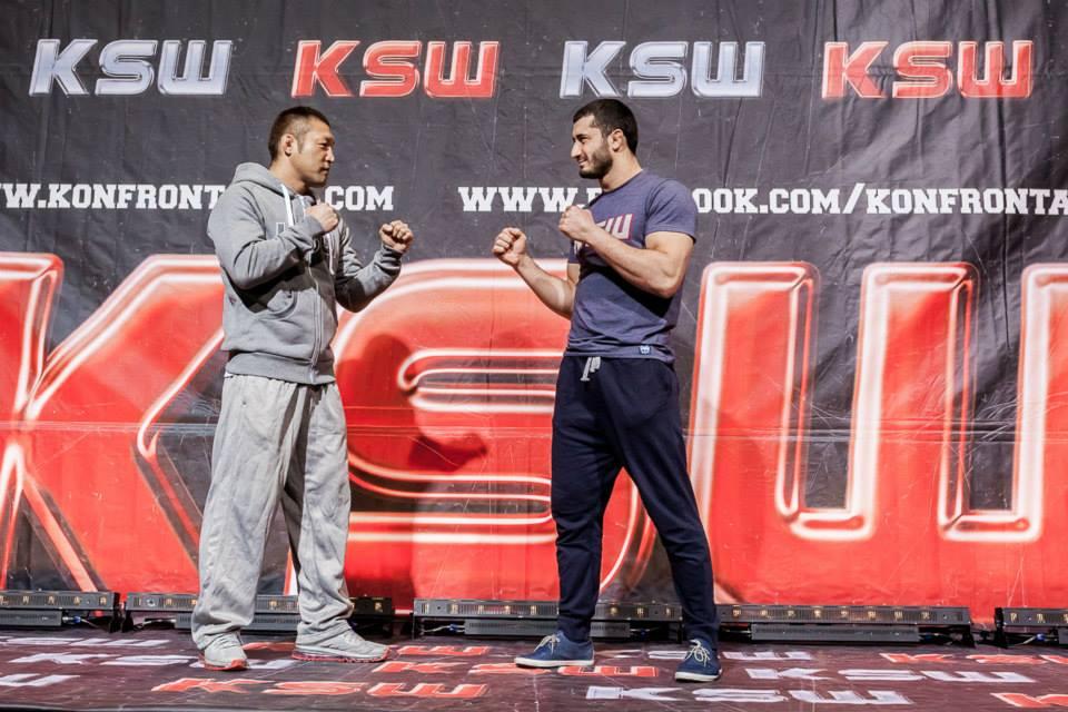 Khalidov vs Sakurai II a Ksw25.Come si era svolto il loro primo match? 1