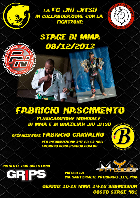8 Dicembre 2013 Fabricio Nascimento in stage (pisa) 1