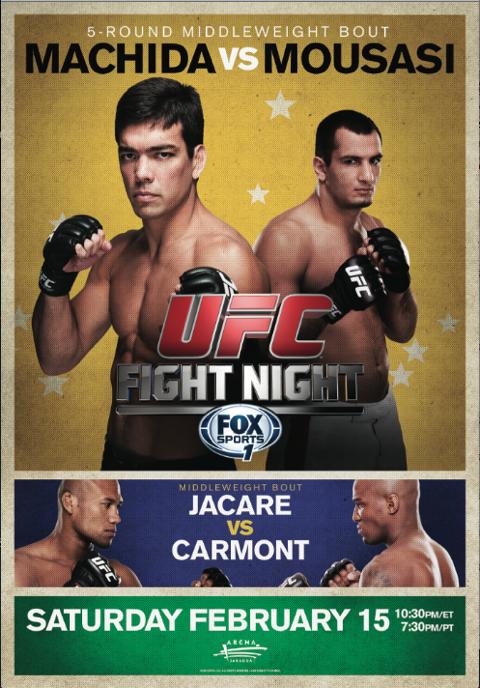 UFC Fight Night 36 Machida vs Mousasi