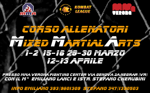 Corso allenatori MMA - KL 1
