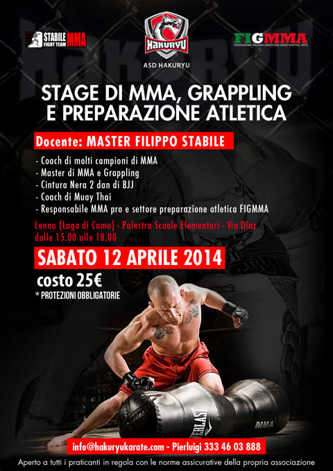 Stage di Grappling e MMA con Filippo Stabile 1