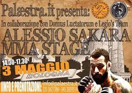 3 Maggio 2014 - Stage di Alessio Sakara a Bologna. 1