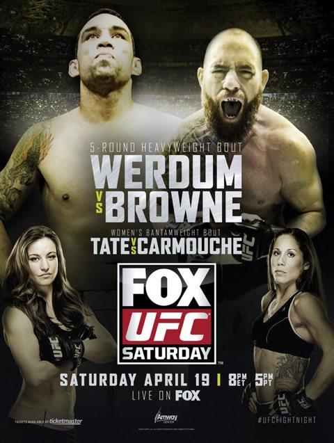 UFC on Fox 11- Fabricio Werdum vs Travis Browne