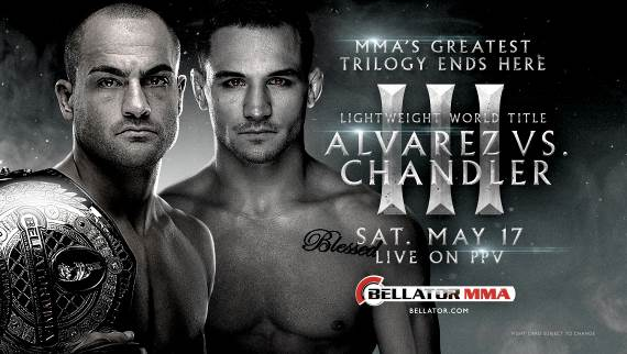 Bellator PPV Alvarez vs Chandler poster