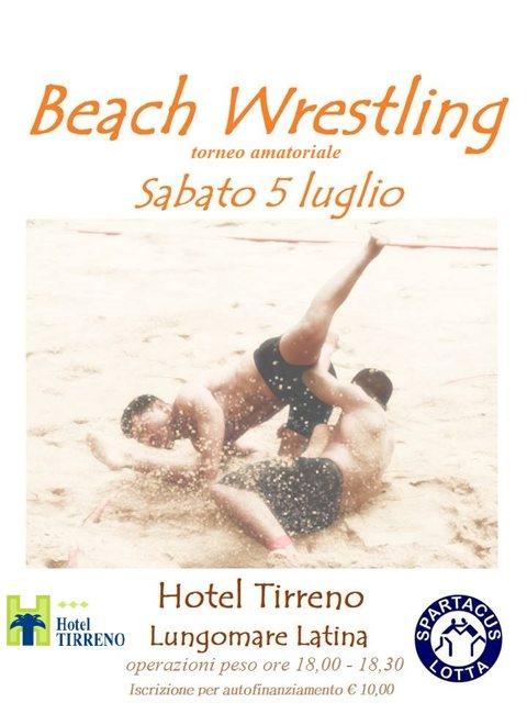 beach wrestlingdef