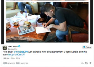 Nick-Diaz-torna-UFC