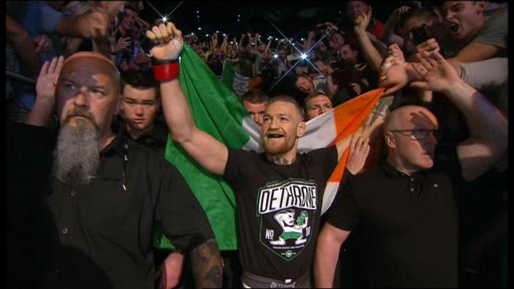 UFC Fight Night Dublin on 3eIn picture: Conor McGregor