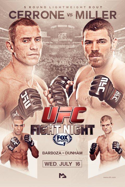 risulati - UFC Fight Night 45- cerrone-vs-miller-