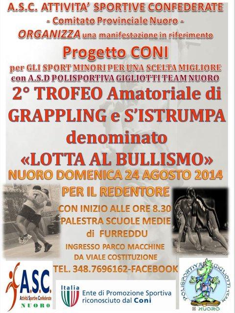 2 Trofeo Amatoriale di Grappling e S'intrumpa (nuoro 24 Agosto)