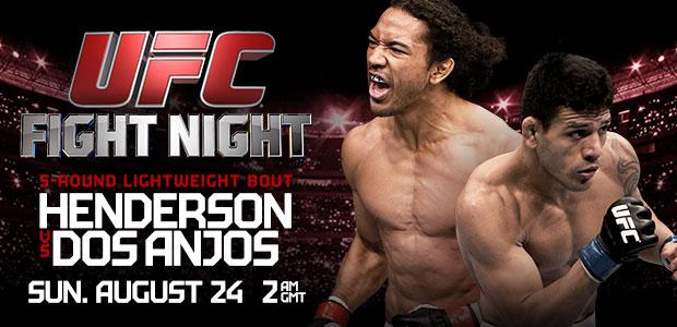UFC FightNight 49 - henderson vs DOs Anjos