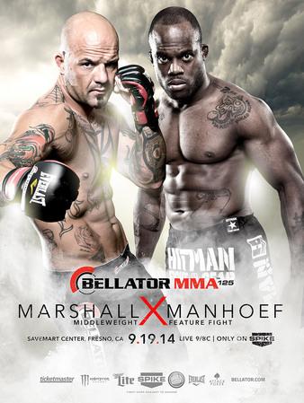 Risultati Bellator 125 - Marshall vs. Manhoef 1