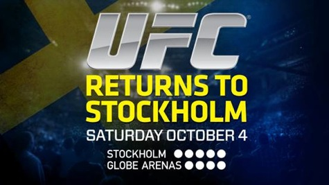 UFC Fight Night 53: UFC Sweden