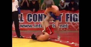 gamba rotta MMA