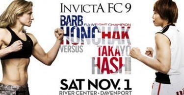 INVICTA FC 9: Honchak VS Hashi 4