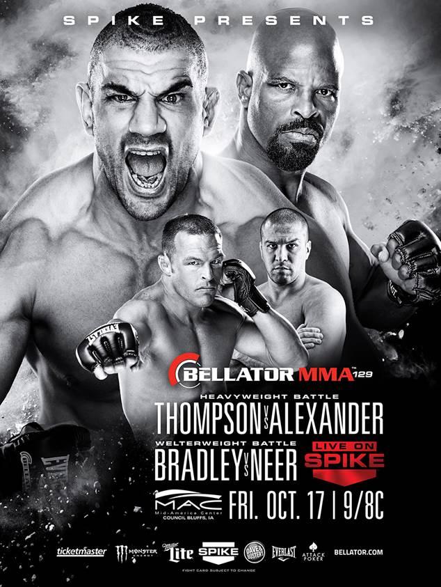 Risultati Bellator 129: Bradley vs. Neer 1