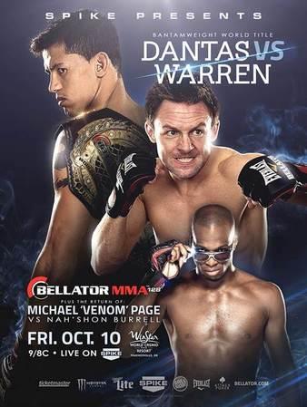 Risultati Bellator 128: Dantas vs. Warren 1