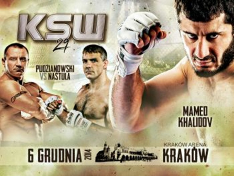 La fight-card completa di Ksw 29. 1