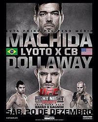 UFC Fight Night: Machida vs Dollaway