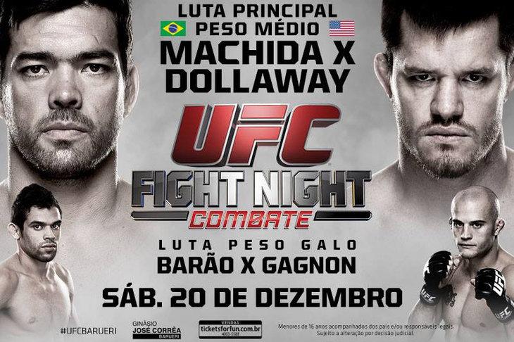 UFC Fight Night: Machida vs Dollaway 1