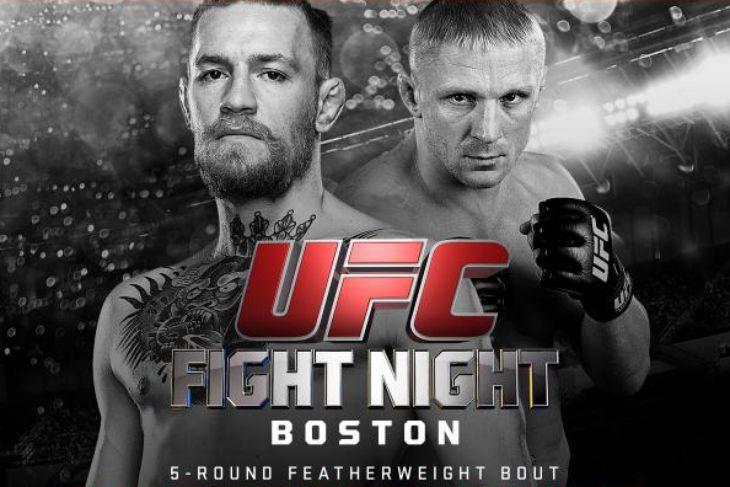 UFC Fight Night 59- McGregor vs. Siver