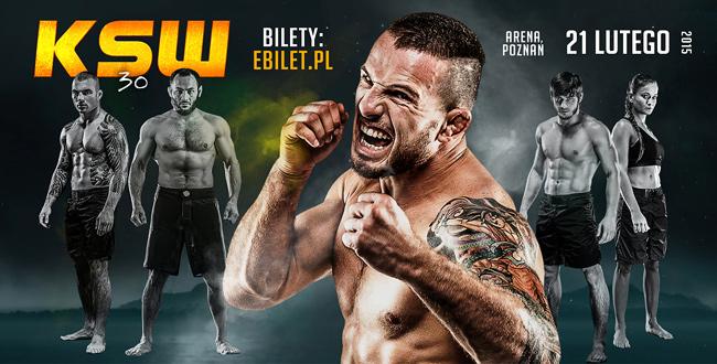 KSW 30 il 21 Febbraio 2015 a Poznan (Polonia).Chi c'è nel Main Event? 1