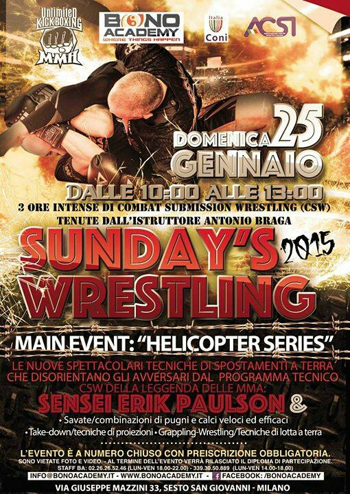 sunday wrestling