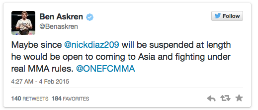 Nick Diaz - Anderson Silva anti-doping Tweets02