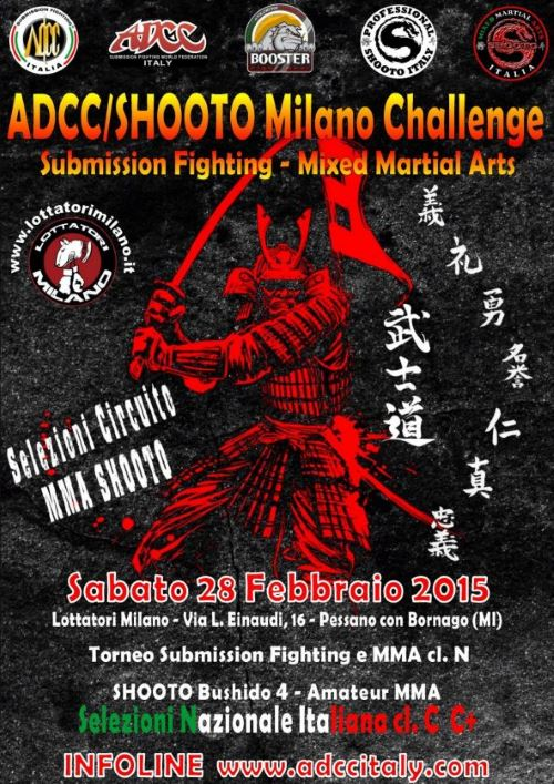 ADCC ITALY Milano Challenge 2015 February