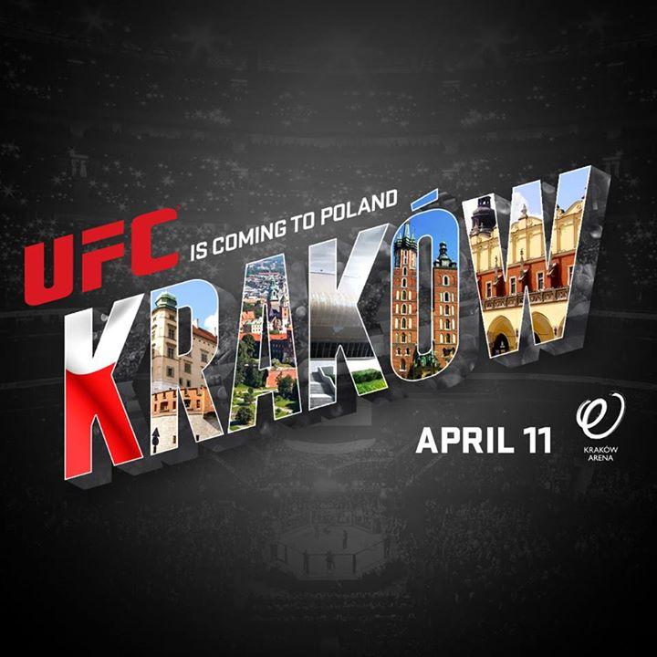 11 Aprile 2015: il giorno in cui l'UFC parlerà polacco a Cracovia. 1