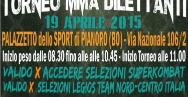 """Torneo MMA dilettanti """"Luctatoria"""" Bologna 19 Aprile 3"""