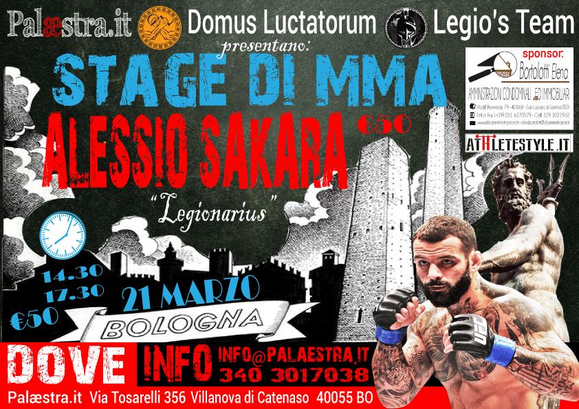 Sabato 21 Marzo 2015 - Stage di Alessio Sakara a Bologna 1